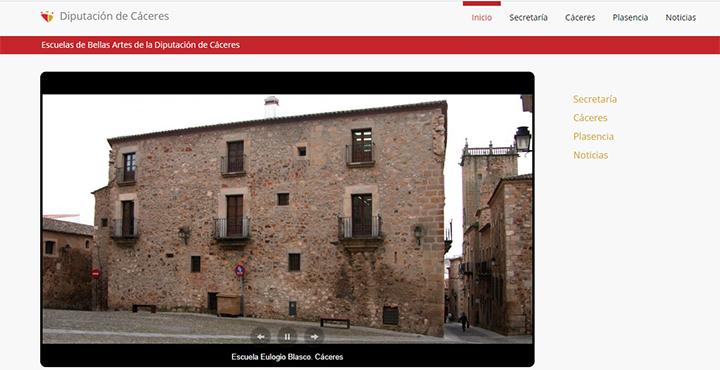 Web de Bellas Artes