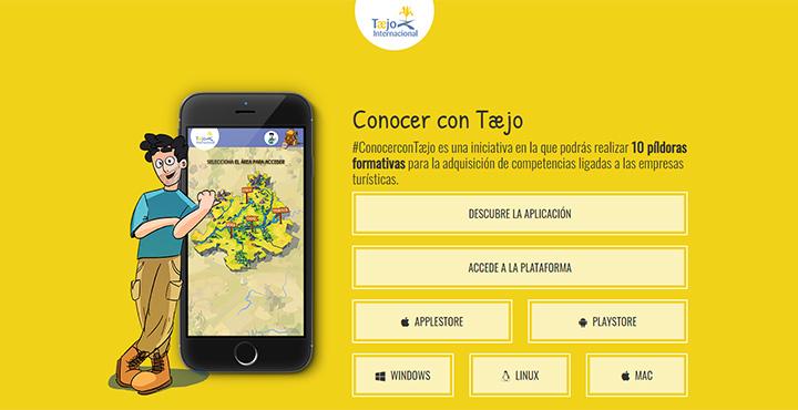 Web de Conocer con Tajo