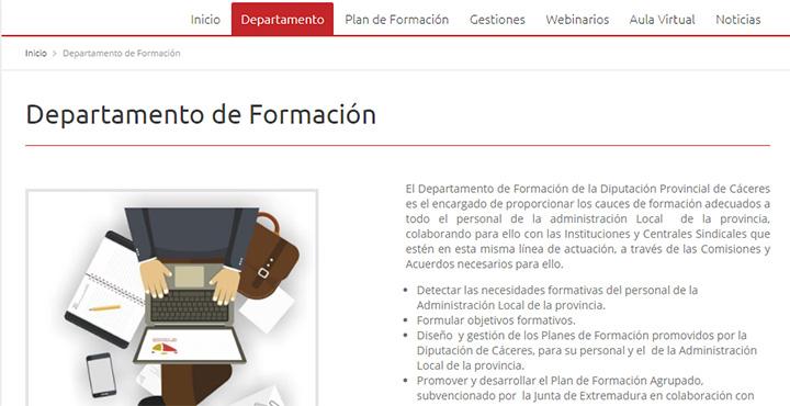 Web de Formación