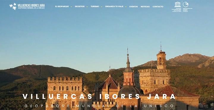 Web del Geoparque Villuercas Ibores