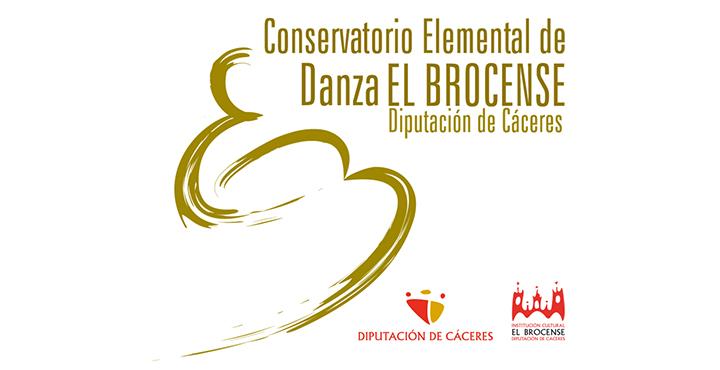 Web del Conservatorio de Danza El Brocense