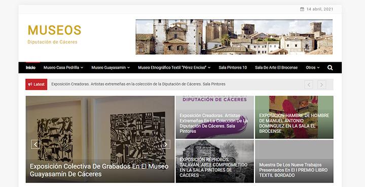 Web de Museos de Diputación
