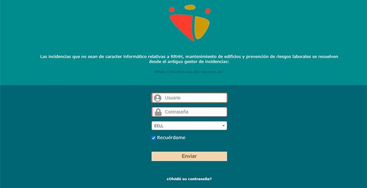 Web soporte CAU